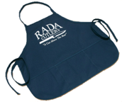 Apron by Rada Cutlery with 3 seven inch pockets (SKU: B126)