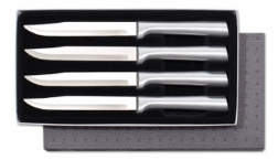 Rada Four Piece Utility/Steak Giftset by Rada Cutlery-Brushed Aluminum (SKU: S55)