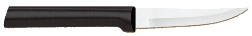 "3 1/4""  Paring Knife by Rada Cutlery - Black SS Resin Handle* (SKU: W203)"