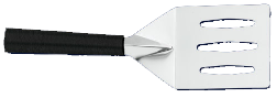 "3 3/4"" Spatula / Turnover by Rada Cutlery - Black SS Resin Handle* (SKU: W228)"