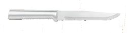"5 3/8"" Butcher Knife by Rada Cutlery - Brushed Aluminum Handle (SKU: R106)"