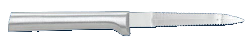 "3 3/8"" Grapefruit Knife by Rada Cutlery - Brushed Aluminum Handle (SKU: R130)"