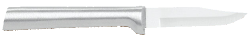 "2 1/2"" Paring Knife by Rada Cutlery - Brushed Aluminum Handle (SKU: R102)"