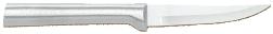 "3 1/4"" Paring Knife by Rada Cutlery - Brushed Aluminum Handle (SKU: R103)"