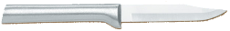 "3 1/8"" Paring Knife by Rada Cutlery - Brushed Aluminum Handle (SKU: R101)"