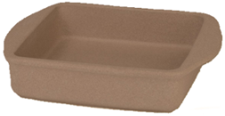 Stoneware 8 in. Square Baker by Rada Cutlery (SKU: 6005)