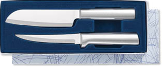 Cook's Choice Gift Set by Rada Cutlery-Brushed Aluminum Handles (SKU: S53)
