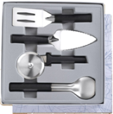 4 Pc. Ultimate Utensil Gift Set by Rada Cutlery - Black SS Resin* (SKU: G250)