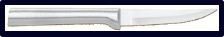 "3 1/4"" Paring Knife by Rada Cutlery - Brushed Aluminum Handle"
