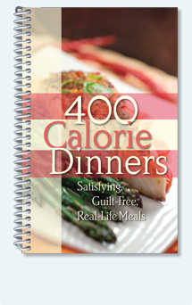 400 Calorie Dinners Cook Book
