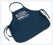 Apron by Rada Cutlery with 3 seven inch pockets