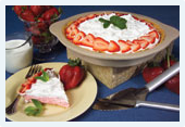 Strawberry Cream No-Bake Cheesecake Mix by Rada Cutlery