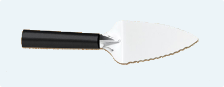 Serrated Pie Server by Rada Cutlery - Black SS Resin Handle*