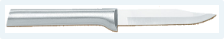 "3 1/8"" Paring Knife by Rada Cutlery - Brushed Aluminum Handle"