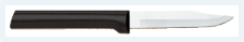 "3 1/8"" Paring Knife by Rada Cutlery - Black SS Resin Handle*"