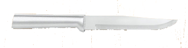 "5 3/8"" Butcher Knife by Rada Cutlery - Brushed Aluminum Handle"