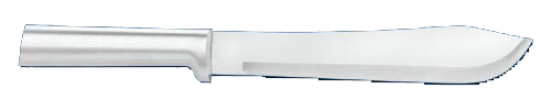 "7 3/4""  Butcher Knife by Rada Cutlery - Brushed Aluminum Handle"