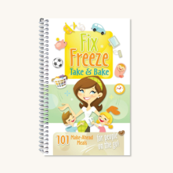 Fix Freeze Take and Bake Cook Book (SKU: 7001)