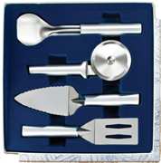 4 Pc. Ultimate Utensil   Gift Set by Rada Cutlery - Brushed Aluminum
