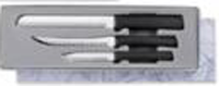 Sensational Serrations Gift Set by Rada Cutlery - Black Handle