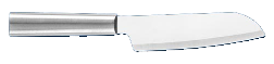 "4 3/4"" Cook's Knife by Rada Cutlery - Brushed Aluminum Handle (SKU: R140)"