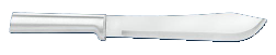 "7 3/4""  Butcher Knife by Rada Cutlery - Brushed Aluminum Handle (SKU: R109)"