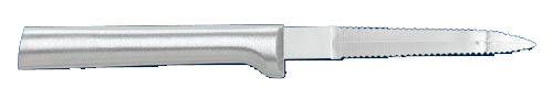 "3 3/8"" Grapefruit Knife by Rada Cutlery - Brushed Aluminum Handle"