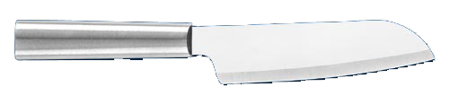 "4 3/4"" Cook's Knife by Rada Cutlery - Brushed Aluminum Handle"