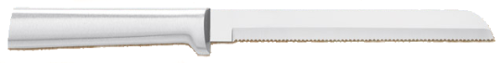 "6"" Bread Slicing Knife by Rada Cutlery - Brushed Aluminum Handle"