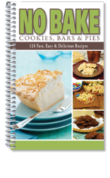No Bake Cookies Bars and Pies Cook Book (SKU: 7011)