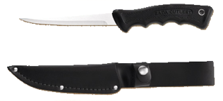 Sportsman Knife with Scabbard by Rada Cutlery
