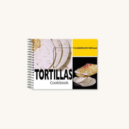 101 Tortillas Recipe Cook Book (SKU: 3713)
