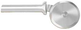 "3"" Pizza Cutter by Rada Cutlery - Brushed Aluminum Handle"