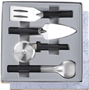 4 Pc. Ultimate Utensil Gift Set by Rada Cutlery - Black SS Resin*